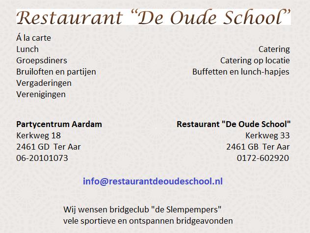 Restaurant 'De Oude School'